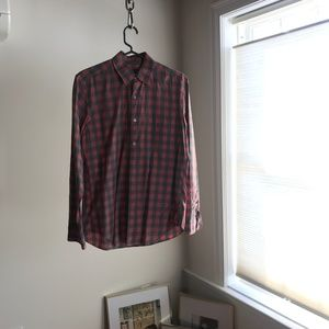 J.Crew Checkered Button Down Shirt